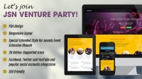 Download – JSN Venture v1.0.4 – Responsive Joomla Event Template